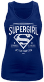 Juniors Tank Top: Supergirl- Better Than Ever Koszulka