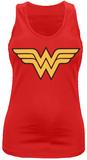 Juniors Tank Top: Wonder Woman- Wings Logo T-Shirt