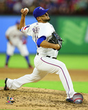 Martin Perez 2016 Action Photo