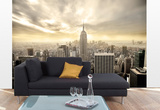 Shining Manhattan Wallpaper Mural