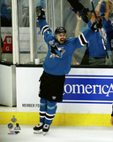 Joonas Donskoi celebrates his Game Winning Overtime Goal Game 3 of the 2016 Stanley Cup Finals Photo