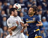 Mls: LA Galaxy at Sporting KC Photo by Peter G Aiken
