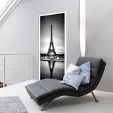 Tour Eiffel Door Mural Veggoverføringsbilde