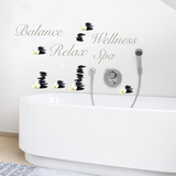 Wellness & Balance Wall Decal