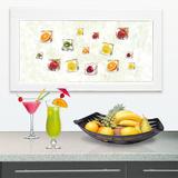 Delicate Fruits Okenní nálepky