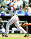 Fernando Tatis 2008 Batting Action Photo