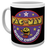 Pacman - World Champion Mug Tazza