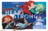 Disney Princess - Heart Strong Posters