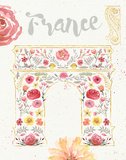 Paris Blooms II Prints by Jess Aiken
