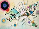 Composition VIII Giclée-tryk af Wassily Kandinsky