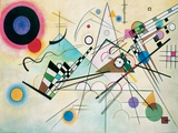 Composition VIII ジクレープリント : カンディンスキー