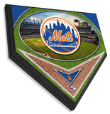 Citi Field Home Plate Plaque Wall Sign