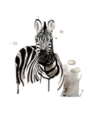 Zebra I Prints by Philippe Debongnie