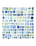 Series Sea Glass No. III Kunstdrucke von Louise van Terheijden