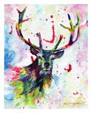 Color Stag Posters af Sarah Stribbling