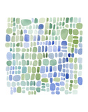 Series Sea Glass No. II Art by Louise van Terheijden
