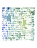 Series Sea Glass No. 1 Prints by Louise van Terheijden