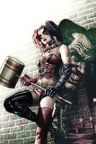 Batman Comics Art Featuring Harley Quinn Prints