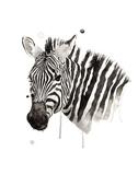 Zebra II Kunst af Philippe Debongnie