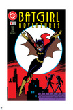 Batman Comics Art Featuring Batgirl Prints