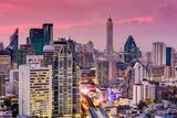 Bangkok, Thailand City Skyline. Photographic Print by  SeanPavonePhoto