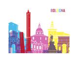 Bologna Skyline Pop Prints by  paulrommer