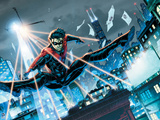Batman Comics Art Featuring Nightwing Posters