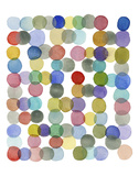 Series Colored Dots No. II Prints by Louise van Terheijden