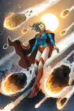 Superman Comics Art Featuring Supergirl Posters