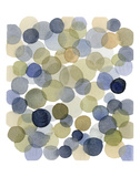 Series Dots Autumn Prints by Louise van Terheijden