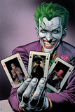 Batman Comics Art Featuring Joker Prints