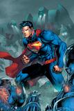 Superman Comics Art Poster