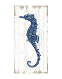 Seahorse in Blue II Poster by  Sparx Studio