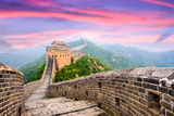 Great Wall of China at the Jinshanling Section. Fotoprint van  SeanPavonePhoto