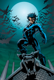 Batman Comics Art Featuring Nightwing Prints