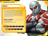 Guardians of The Galaxy Profile Featuring Drax Posters