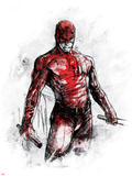 Marvel Knights - Daredevil Art Design Posters