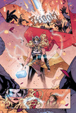 Mighty Thor No. 4 Panel Featuring Thor (Female), Loki Posters by Russell Dauterman