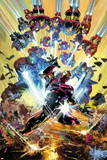 Invincible Iron Man No. 7 Cover Posters af Mike Deodato