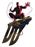 Marvel Knights - Daredevil Art Design Print