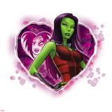 Guardians of The Galaxy Art Featuring Gamora Prints