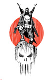 Marvel Knights - Punisher Art Design Posters