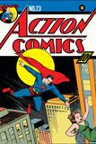 DC Comics Cover Featuring Superman Prints