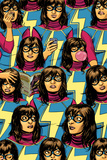 Ms. Marvel No. 5 Cover Featuring Ms. Marvel (Kamala Khan) Posters by David Lopez
