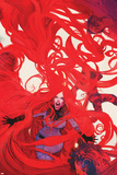 Uncanny Inhumans No. 6 Cover Featuring Medusa Posters by Bill Sienkiewicz
