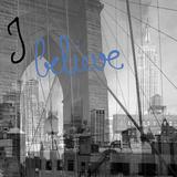 NY NY...I Believe Giclee Print by Tony Koukos