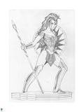 Wonder Woman Comics Art Prints