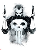 Marvel Knights - Punisher Art Design Print