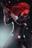 Black Widow No. 1 Cover Posters by Stephanie Hans