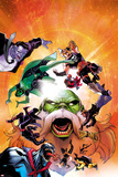 Contest of Champions No. 6 Cover Featuring Gray Hulk, Gamora, Ares, Maestro and More Posters by Paco Medina